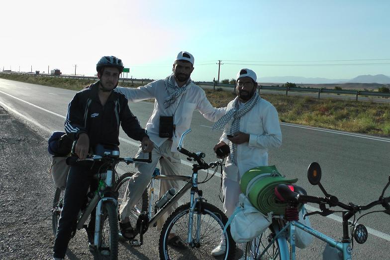دوستان دوچرخه سوار در سطح جاده های کشور!