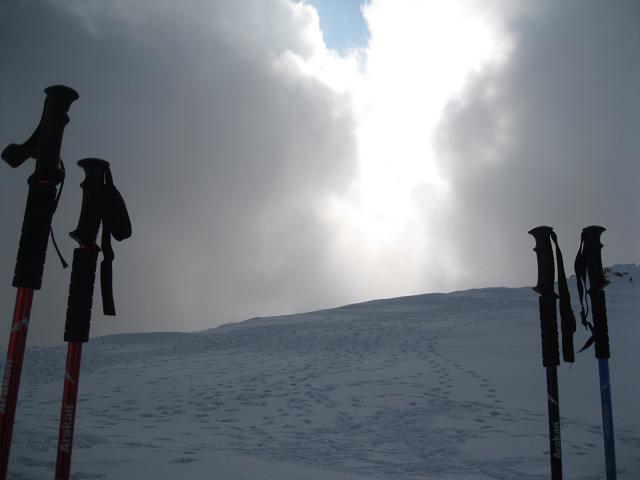 باتوم ، زمین ، آسمان و برف